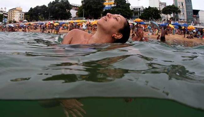 Temperatura média diária tem chegado perto dos 32°C - Foto: Lúcio Távora | Ag. A TARDE