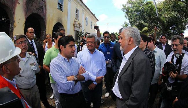 Wagner se encontrou com o prefeito ACM Neto na manhã desta sexta-feira - Foto: Manu Dias   Secom
