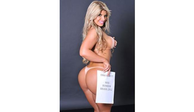 Miss Bumbum agradeceu aos fãs pelo título - Foto: CO Assessoria   Divulgação