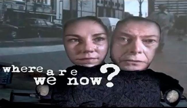 Cantor lançou um clipe com o novo single, Where Are We Now? - Foto: Reprodução | Youtube