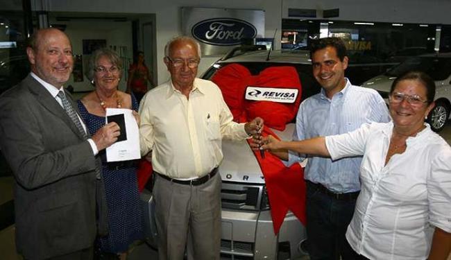 Concurso 100 Anos de A TARDE entregou EcoSport a Solon Barros Jr., 74 - Foto: Fernando Amorim   Ag. A TARDE