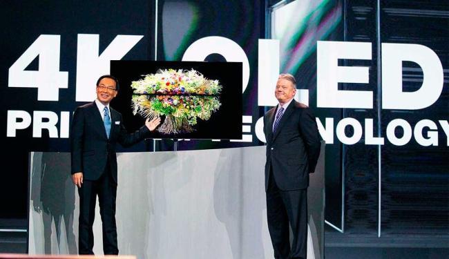 Panasonic diz que é a maior TV de OLED do mundo - Foto: Agência Reuters