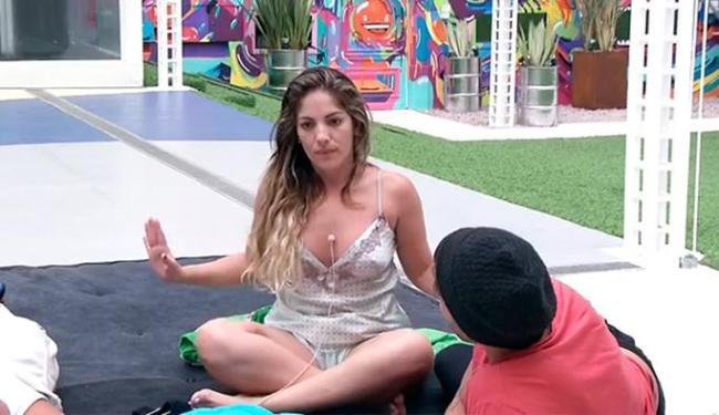 Anamara contou intimidades para os bróders nesta quinta-feira - Foto: Reprodução | Globo.com