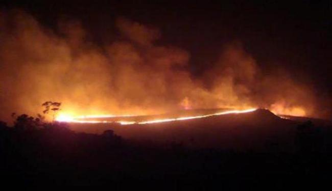 Governo quer reduzir o número de incêndios na Chapada Diamantina - Foto: Foto do Leitor | A TARDE