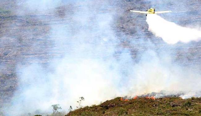 Focos nas regiões de Mucugê e em Morro do Chapéu preocupam - Foto: Elói Corrêa/GOVBA
