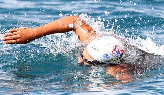 Ana Marcela é bicampeã geral da prova que exige muito preparo e concentração do atleta - Foto: Lúcio Távora | Ag. A TARDE