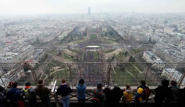 Estima-se que o protesto reuniu cerca de 800 mil pessoas - Foto: Agência Reuters