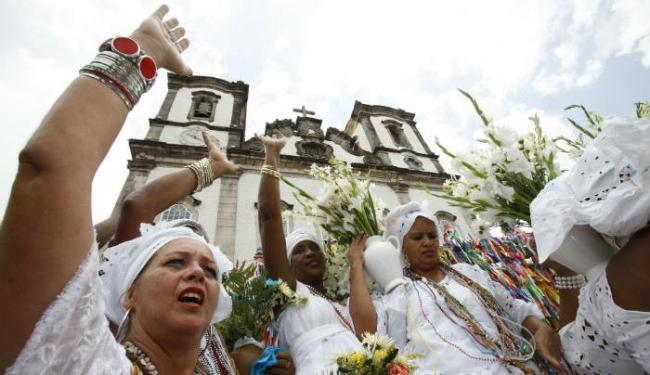 Lavagem do Senhor do Bonfim, padroeiro da Bahia, acontece nesta quinta-feira, 17 - Foto: Erik Salles | Ag. A TARDE