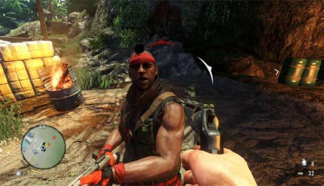Game mostra as aventuras de Jason em uma ilha tropical infestada de piratas - Foto: Divulgaçã