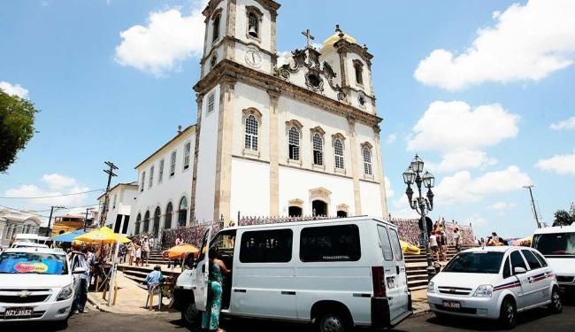 Transalvador proibirá circulação e estacionamento de veículos no bairro do Bonfim e vias adjacentes - Foto: Mila Cordeiro | Agência A TARDE