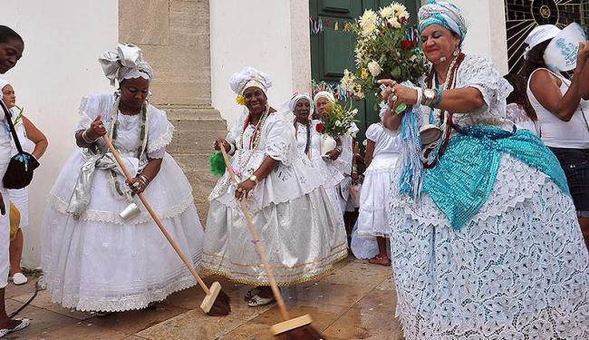 Baianas seguem tradição de 259 anos - Foto: Max Haack | Agecom