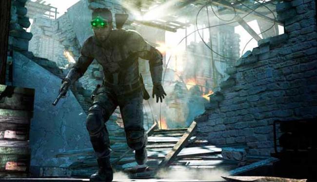 Sam Fisher está de volta para PS3, Xbox 360 e PC - Foto: Divulgação