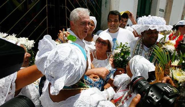 Aspirantes a candidatos ao governo participam da grande festa popular - Foto: Marco Aurélio Martins | Ag. A TARDE