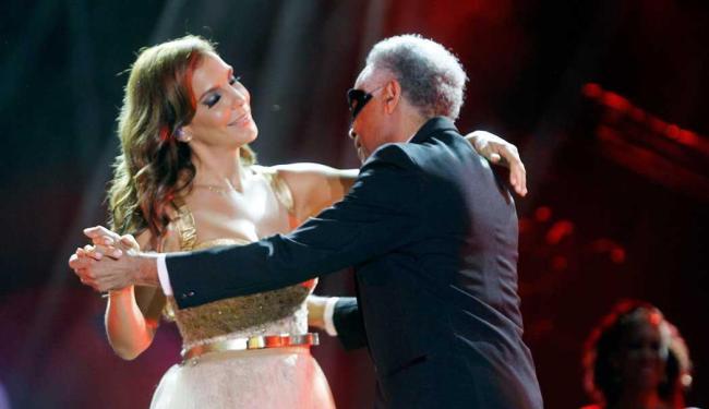 Ivete dançou com seus 15 convidados; entre eles Gilberto Gil - Foto: Divulgação