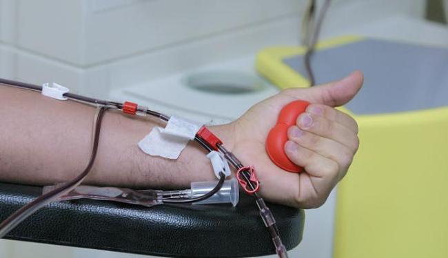 Doação de Sangue acontece até o dia 1º de fevereiro, das 8h às 17h - Foto: Fernando Vivas | Ag. A TARDE