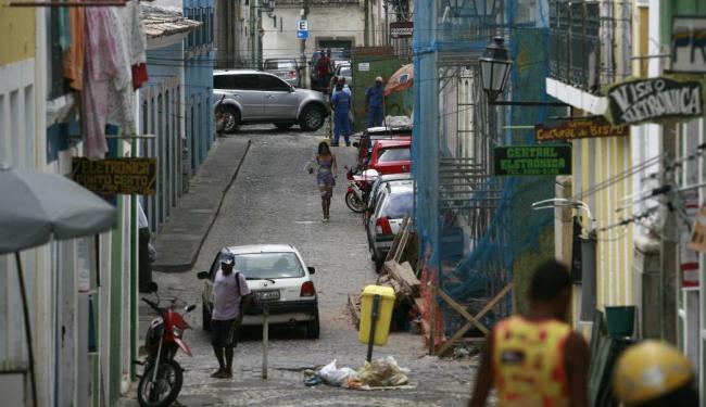 Pelourinho revela contradições entre o potencial cultural e o abandono - Foto: Raul Spinassé | Ag. A TARDE