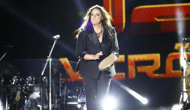 Cantora mineira Ana Carolina cantou sucessos, como