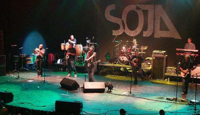 Banda SOJA vai levar o reggae norte-americano ao palco 15 Verões neste sábado - Foto: Thaís Seixas   Ag. A TARDE