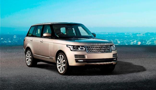 Range Rover Vogue foi para a 4ª geração - Foto: Divulgação