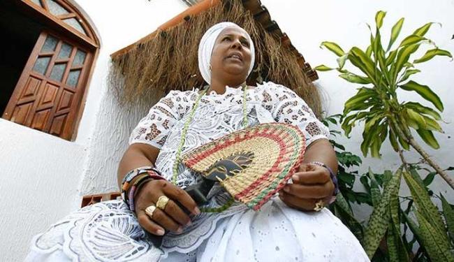 A ialorixá Jaciara dedica a vida a lembrar o caso de Mãe Gilda, que deu origem à data - Foto: Margarida Neide | Ag. A TARDE