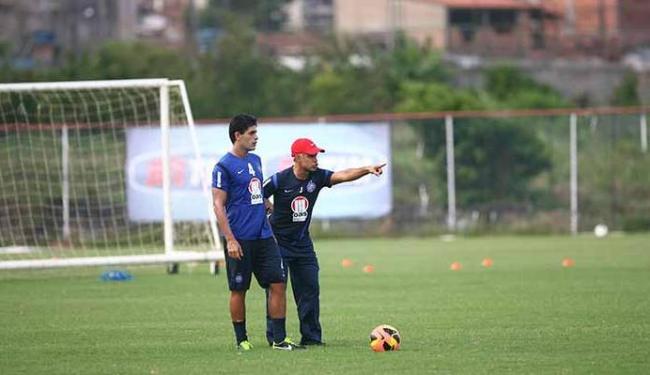 Jorginho comandou o treino na tarde de segunda-feira - Foto: Fernando Amorim | Ag. A TARDE