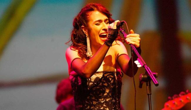 A cantora passou fez show em Salvador no último dia 10 - Foto: Margarida Neide   Ag. A TARDE