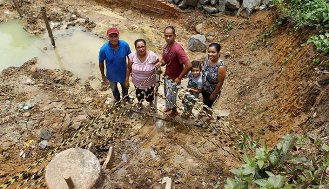 Descoberta de petróleo serve para uma família sonhar em mudar o padrão de vida - Foto: Eduardo Martins | Ag. A TARDE