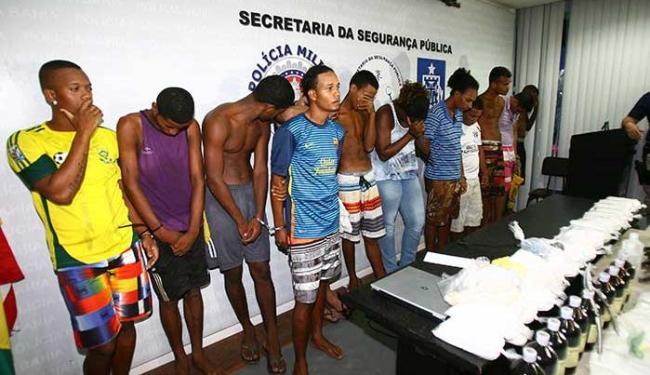 Quadrilha foi desarticulada em ação que envolveu a participação de 300 policiais - Foto: Fernando Amorim | Ag. A TARDE