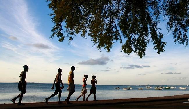 Praia da Ribeira, Salvador - Foto: Fernando Vivas | Ag. A TARDE