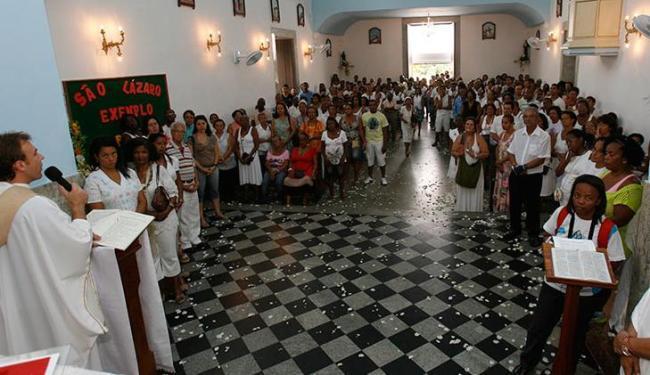 Festa lotou a Paróquia da Ressureição, no Alto da Federação - Foto: Margarida Neide / AG. A TARDE