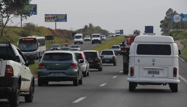 Concessionária prevê a circulação de cerca de 400 mil veículos durante o carnaval - Foto: Joá Souza | Ag. ATARDE