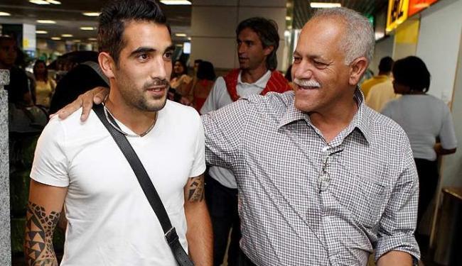 Meia argentino é 12ª contratação do Vitória para a temporada 2013 - Foto: Eduardo Martins   Ag. A Tarde