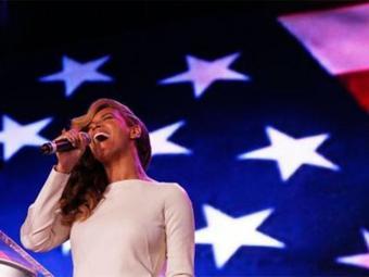 Beyoncé esclarece polêmica da posse de Obama - Foto: Agência Reuters