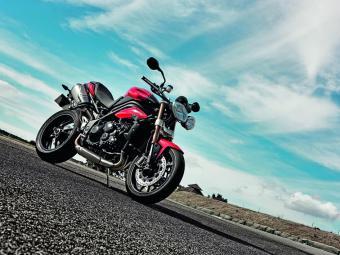 A super naked Speed Triple custa R$ 42.900 - Foto: Divulgação Triumph