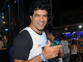 Ex-jogador circulou por diversos camarotes durante a folia - Foto: Divulgação