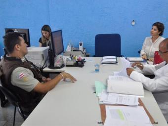 Policial militar que atendeu vítimas depõe durante julgamento - Foto: Divulgação | TJ-BA