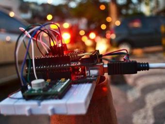 Dispositivo em fase de desenvolvimento do projeto Sensorium - Foto: Divulgação