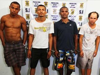 Bando subtraiu R$ 1.272 de uma lotérica - Foto: Divulgação | Polícia Civil