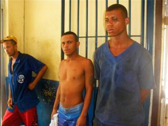 Suspeitos foram presos horas depois do crime - Foto: Divulgação | Blog Central de Polícia