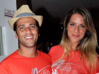 Os dois reataram após suposta traição do ator no ano passado - Foto: Juarez Matias| Divulgação