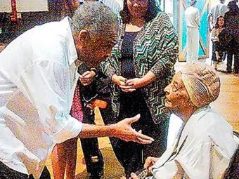 Dona Coló morreu nesta manhã, no Hospital Português, em Salvador - Foto: Reprodução