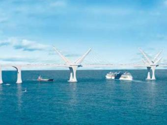 Ponte será a segunda maior do país - Foto: Divulgação