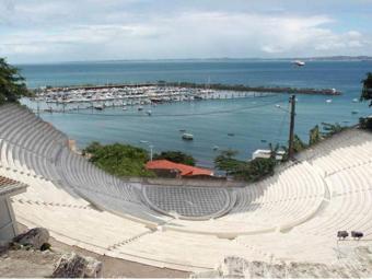 Imagem de parte do projeto da arena - Foto: Divulgação   Setur