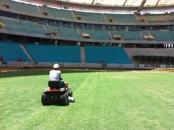 Consórcio Arena Fonte Nova faz reparos finais no estádio - Foto: Arena Fonte Nova | Divulgação