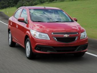 O Prisma 2013 tem valor inicial de R$ 34.990 - Foto: Divulgação/Chevrolet