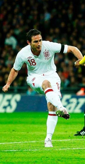 Jogador marcou o gol que deu a vitória aos ingleses - Foto: Eddie Keogh | Agência Reuters