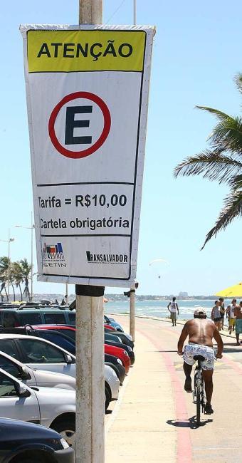 Cobrança espanta a clientela, segundo comerciantes - Foto: Fernando Amorim   Ag. A TARDE