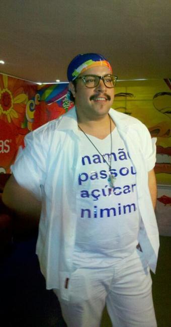 Esta é terceira vez que Tiago Abravanel participa do carnaval de Salvador - Foto: Bárbara Reis | Ag. A TARDE