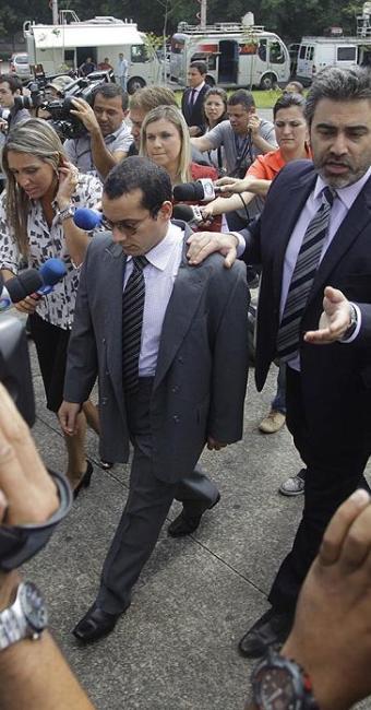 Gil Rugai é acusado de assassinar a tiros o pai e a madrasta em março de 2004 - Foto: Nelson Antoine | Agência Estado
