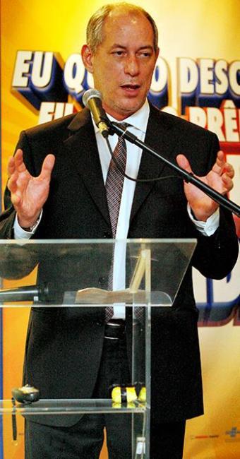Ciro Gomes, ex-governador e ex-ministro da Integração - Foto: Marco Aurélio Martins | Ag. A TARDE